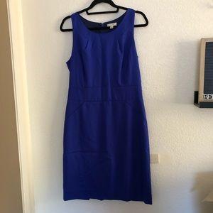 J Crew Emmaleigh Wool Sheath Dress Royal Blue 10